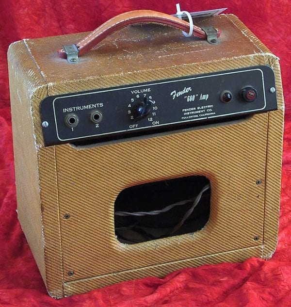 1952 Fender Champ 600, Model 5B1, Tweed