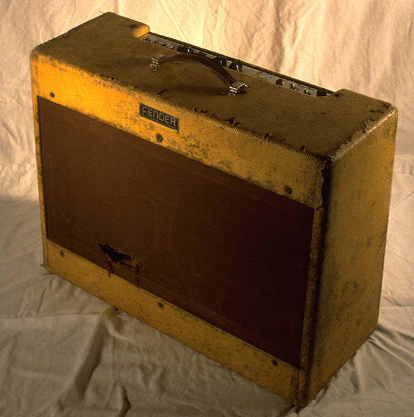 1953 Fender Twin, Model 5C8, Tweed