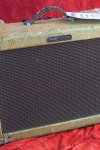 1956 Fender Deluxe, Model 5 C3, Tweed