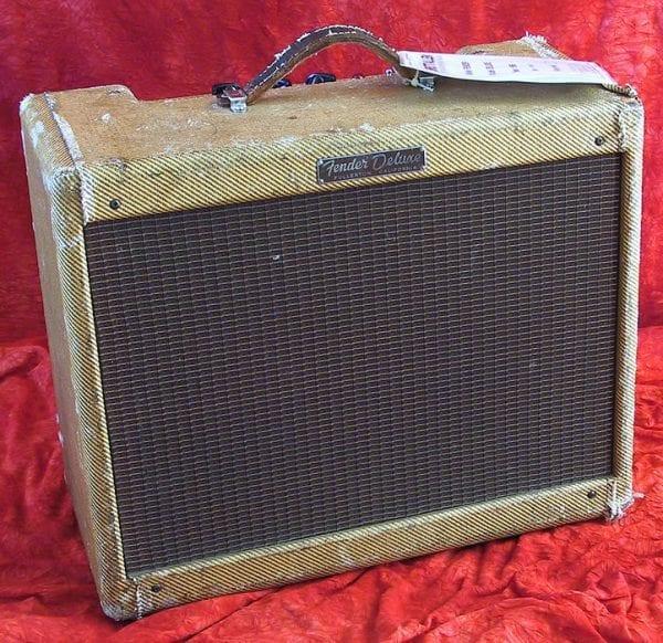 1956 Fender Deluxe, Model 5 C3, Tweed