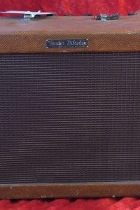 1958 Fender Vibrolux, Model 5F11, Tweed