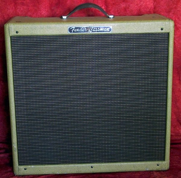 1959 Fender Bassman, Model 5F6A, Tweed