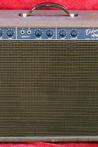 1960 Deluxe, Model 6G3 Vibrato, Brown Tolex