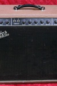 1960 Fender Super, Model 6G4, Brown Tolex