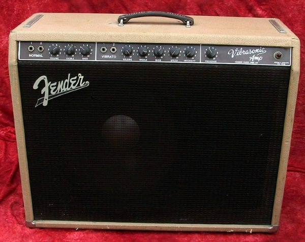 1961 Vibrosonic, Model 6G 13 Vibrato, Brown Tolex