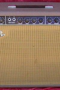 1963 Fender Vibroverb, Brown Tolex