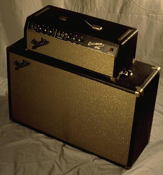 1964 Fender Bassman, Black Face