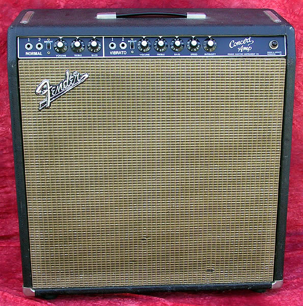 1964 Fender Concert, Black Face