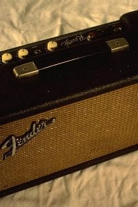 1964 Fender Reverb Unit, Model AB763, Black Face
