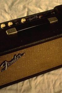 1964 Fender Reverb Unit, Model AB763, Black Face