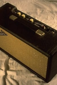 1964 Reverb Unit, Model 6G15, Black Face