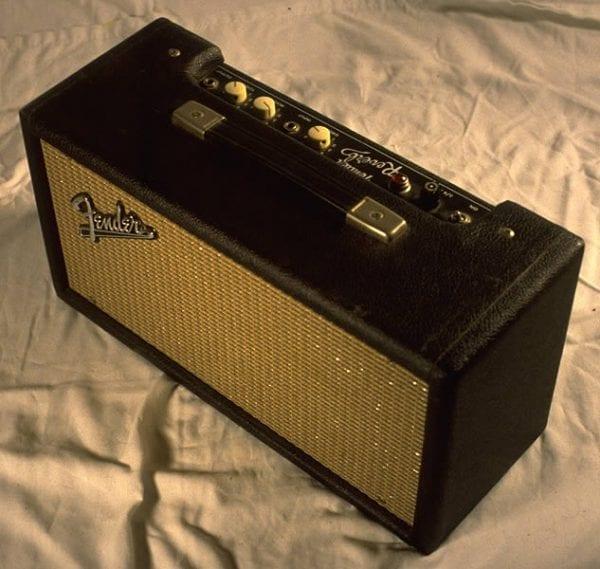 1964 Reverb Unit, Model 6G15, Black Face