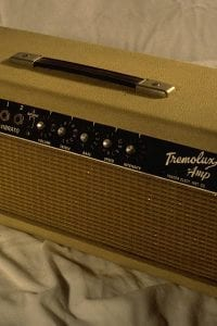 1964 Tremolux Piggyback, Model AB763 Vibrato, Blonde Tolex