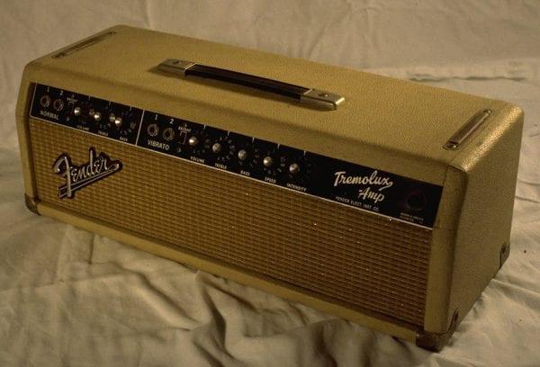1964 Tremolux Piggyback, Model AB763 Vibrato, Blonde Tolex