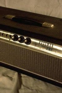 1967 Fender Bassman, Piggyback, Silver Face