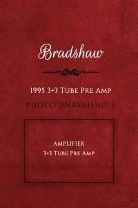 Bradshaw1995 3+3 Tube Pre Amp