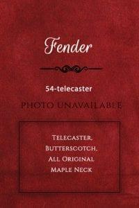 Fender Guitar-54-telecaster