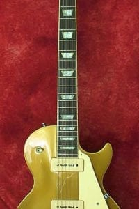 1989 Gibson Les Paul Gold Top P-90