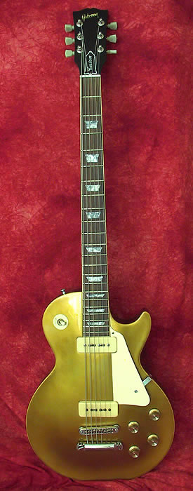 1989 Gibson Les Paul Gold Top Humbuckers