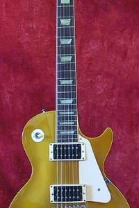 1992 Gibson Les Paul Gold Sparkle 3x P90