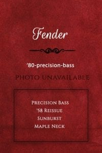 Fender-Bass Guitar-1980-precision-bass