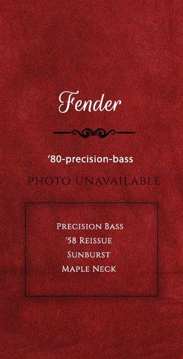 Fender-Bass Guitar-1980-precision-bass