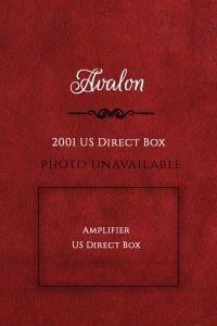 Avalon 2001 Direct Box