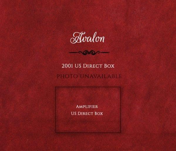 Avalon 2001 Direct Box