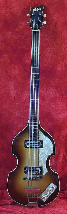 "1967 Hofner ""Beatle"" Bass"