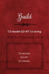 Guild Guitar 1972-model-G3-NT-12-string
