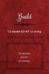 Guild Guitar 1972-model-G3-NT-12-string