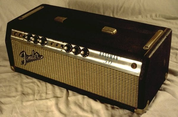 1975 Fender Bassman 50, Silver
