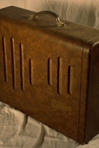 1952 Gibson GA 50, Brown Vinyl