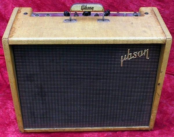 1958 Gibson Ranger GA8, Blonde Tweed