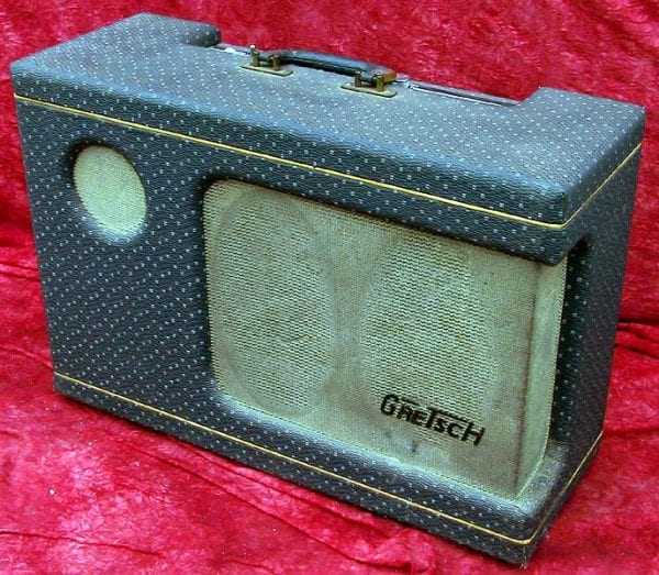 1956 Gretch Electromatic Tremelo front