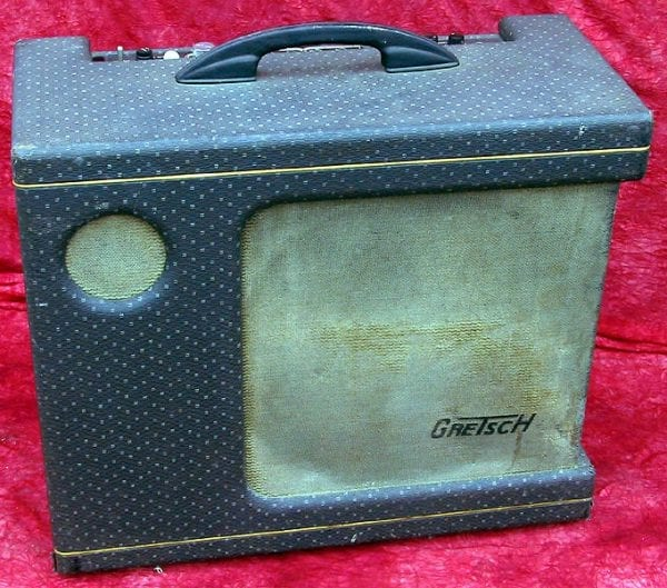 1958 Gretsch Jimmy Webster amplifier front