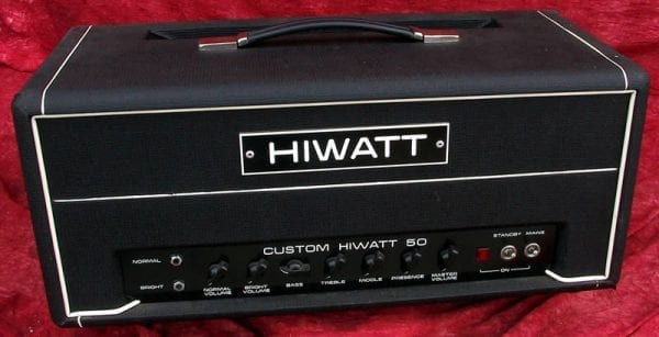 Hiwatt 1973 Custom 50 Amplifier