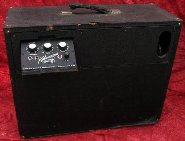 Kalamazoo '66 Bass 30 Combo Amp Bass 30 back