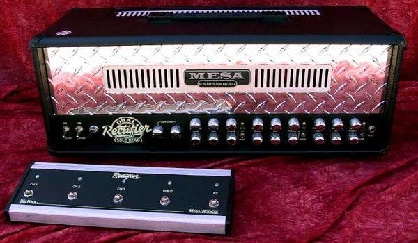 Mesa Boogie 2002 Dual Rectifier front