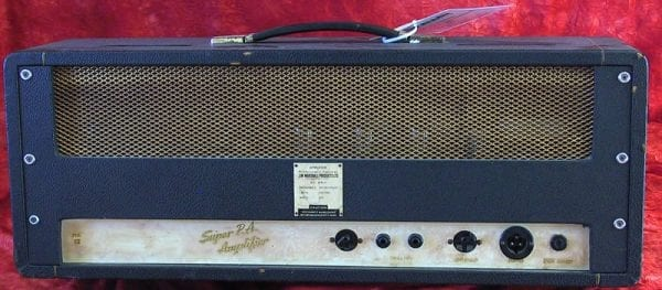 Marshall Head 1965 JTM 100 back