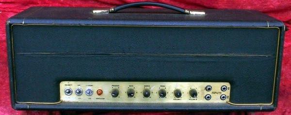 Marshall Head 1970 Lead Small Box