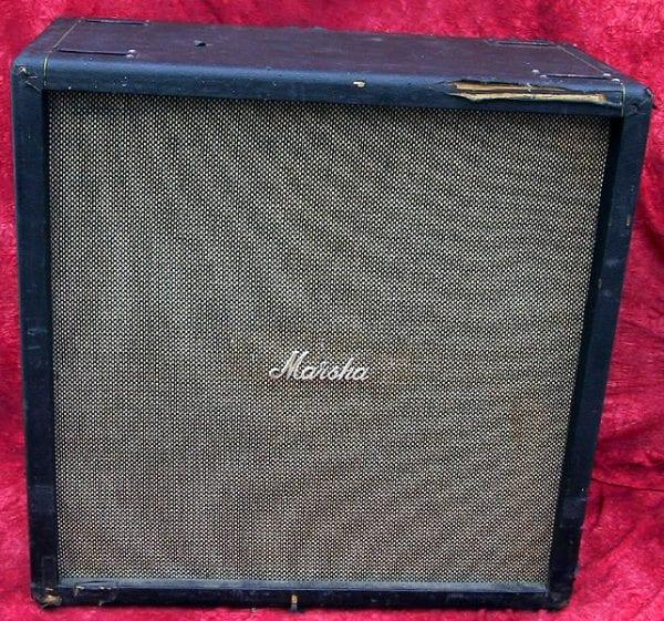 1968 Marshall Speaker Cabinet Straight Cab Amplifier