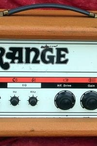 Orange Amp 1970 120 Overdrive