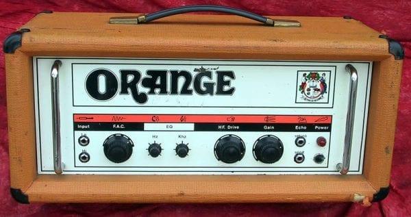 Orange Amp 1970 120 Overdrive