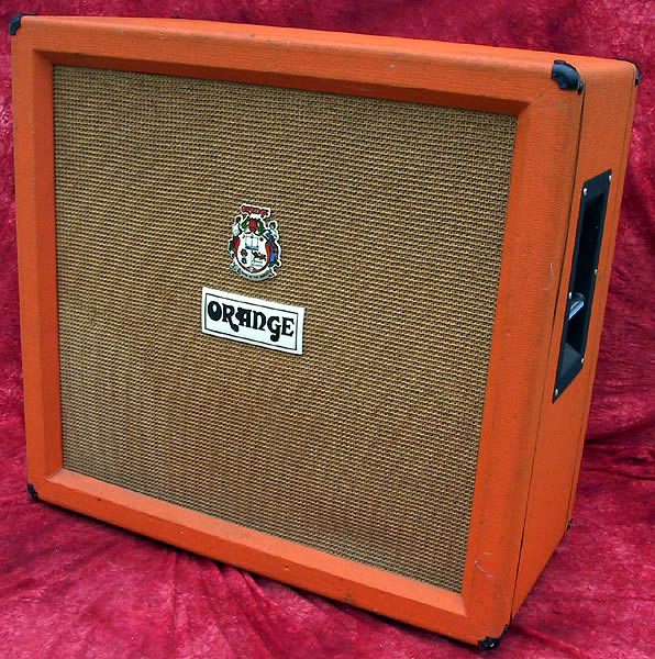 Orange Amp 1972 4x12 Cabinet