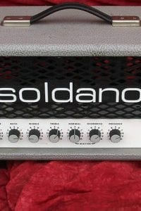 Soldano 1993 SL Super Lead Overdrive Head Effects Loop