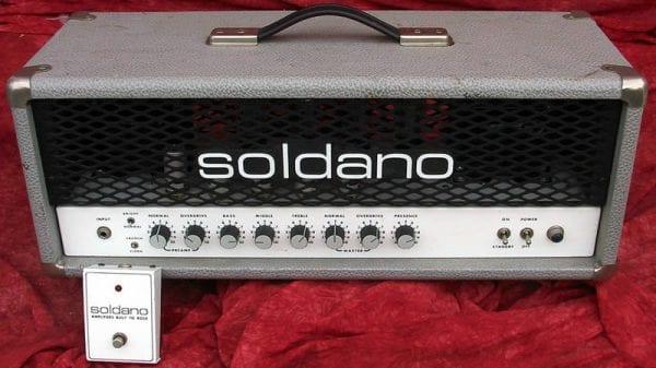 Soldano 1993 SL Super Lead Overdrive Head Effects Loop