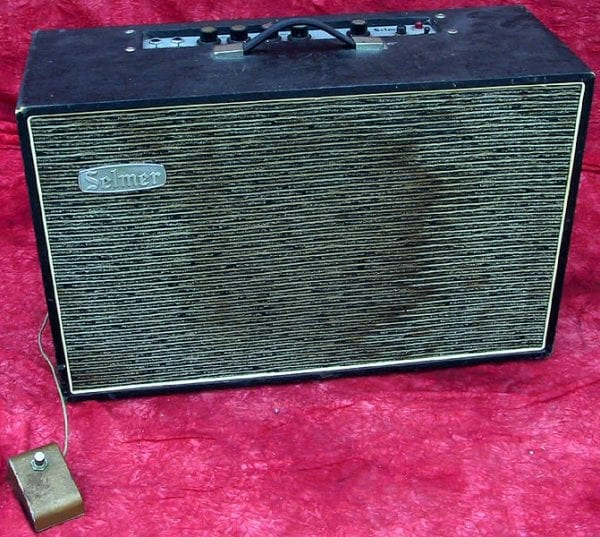 1959 Selmer Vanguard Amp