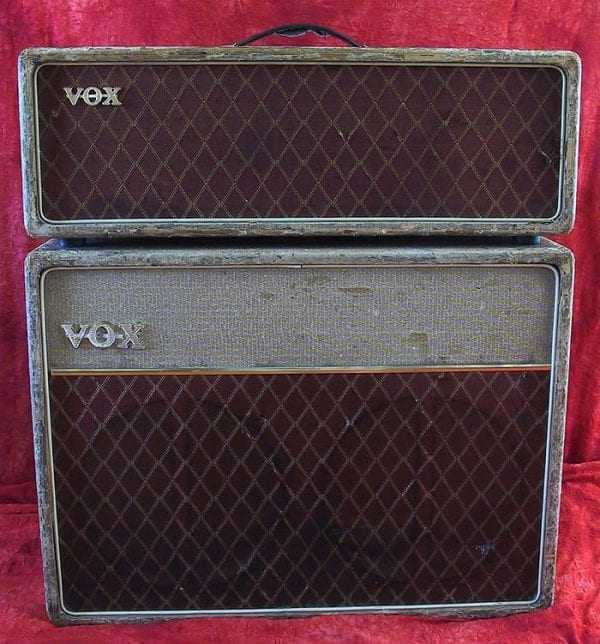 Vox 1959 AC 30 Top Boost front
