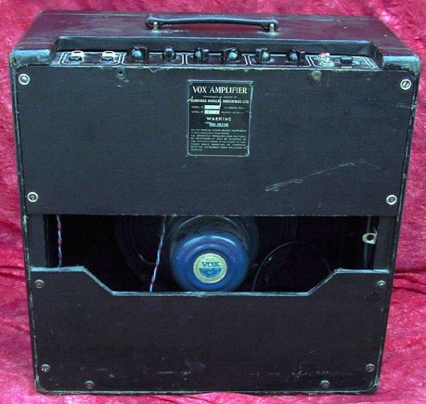 Vox AC 15-back view